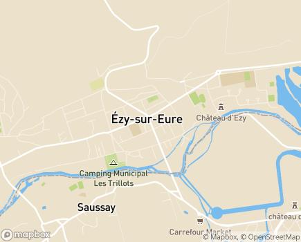 Localisation La Main Tendue 27 - 27530 - Ézy-sur-Eure