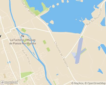 Localisation ALEFPA Etablissement et Service d'Aide par le Travail Val de Reuil - 27107 - Val-de-Reuil