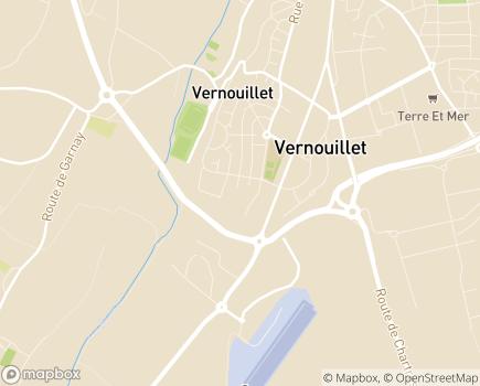 Localisation EHPAD Les Jardins d'Automne - 28500 - Vernouillet