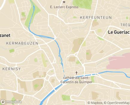 Localisation SOLIHA HD 29 - 29105 - Quimper