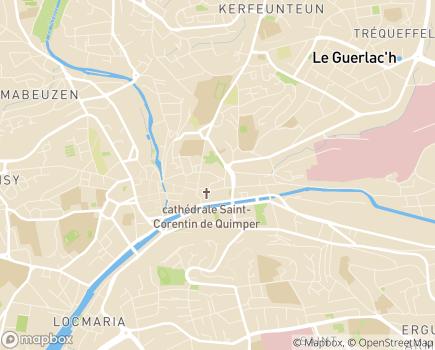 Localisation CLIC de Quimper Bretagne Occidentale (CIAS) - 29107 - Quimper