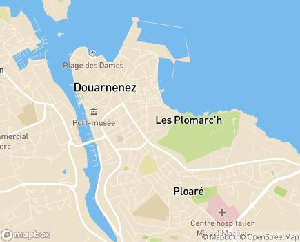 Localisation Domitys Les Gréements d'Or - Résidence avec Services - 29100 - Douarnenez