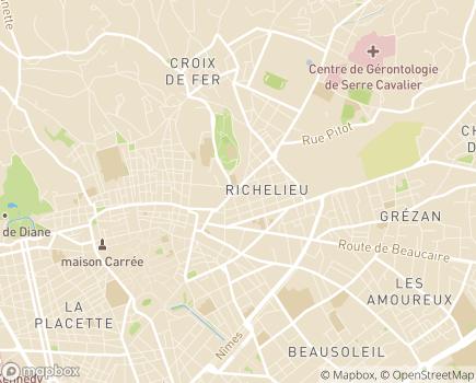 Localisation Résidence Services Les Aquarelles - 30000 - Nîmes