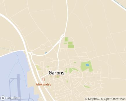 Localisation EHPAD Les Cinq Sens - 30128 - Garons