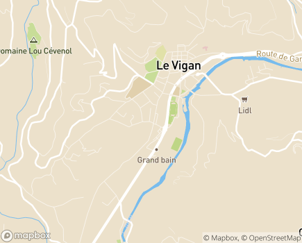 Localisation CMPEA Centre Médico-Psychologique pour l'Enfant, l'Adolescent et la Famille - 30120 - Le Vigan
