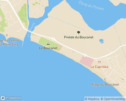 Localisation Les Jardins d'Arcadie Grau-du-Roi - 30240 - Le Grau-du-Roi