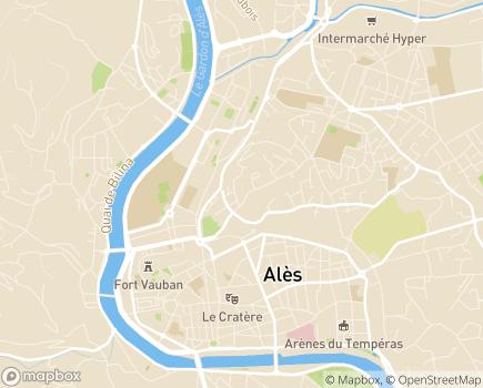 Localisation Foyer Saint-Joseph - 30100 - Alès
