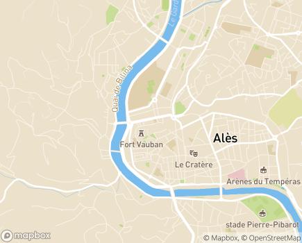 Localisation Foyer d'Enfants - 30100 - Alès
