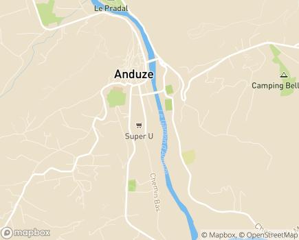Localisation Centre Médical L'Egrégore - Audavie - 30820 - Caveirac