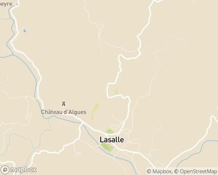 Localisation EHPAD Les Glycines - 30460 - Lasalle