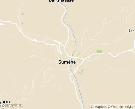 Localisation EHPAD Saint-Martin - 30440 - Sumène
