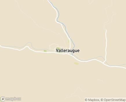 Localisation EHPAD Maison de Retraite Fil d'Argent - 30570 - Valleraugue