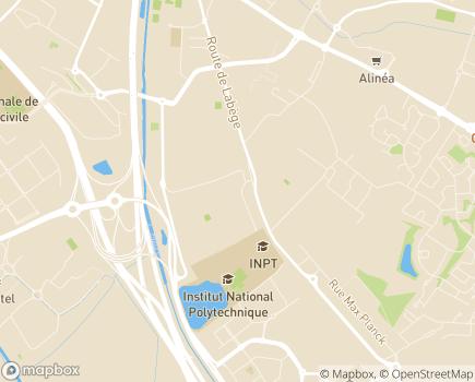 Localisation Institut Médico-Educatif Montaudran - 31400 - Toulouse