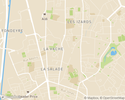 Localisation Colisée - Résidence Marguerite - 31200 - Toulouse