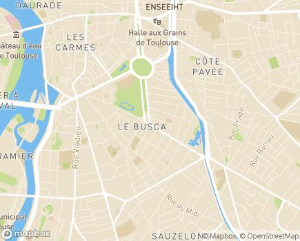Localisation DITEP La Grande Allée - Association L'ESSOR - 31400 - Toulouse