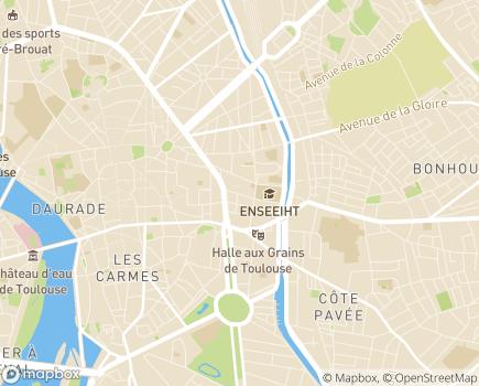 Localisation CERAS - 31000 - Toulouse