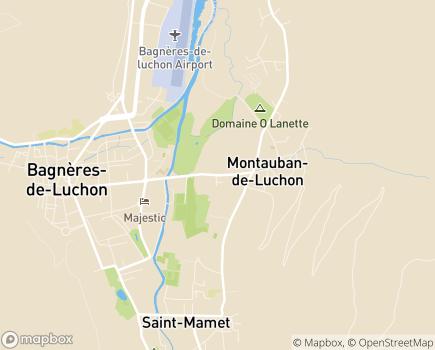 Localisation EHPAD Era Caso - 31110 - Montauban-de-Luchon
