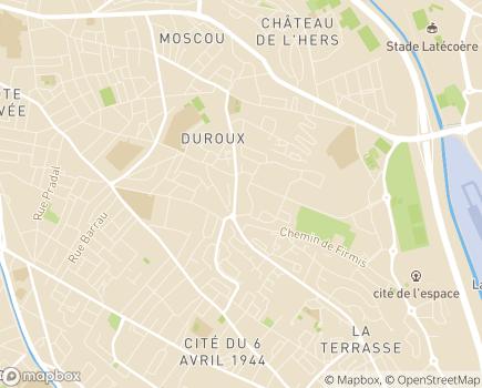 Localisation Korian la Côte Pavée - 31000 - Toulouse