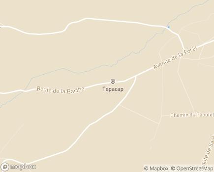 Localisation AJH - Foyers d'Hébergement Les Pins - 31370 - Rieumes