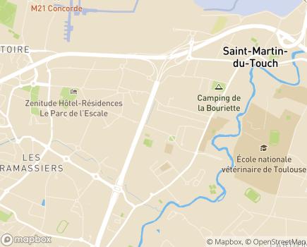Localisation Colisée - Résidence Arc-en-Ciel - 31300 - Toulouse