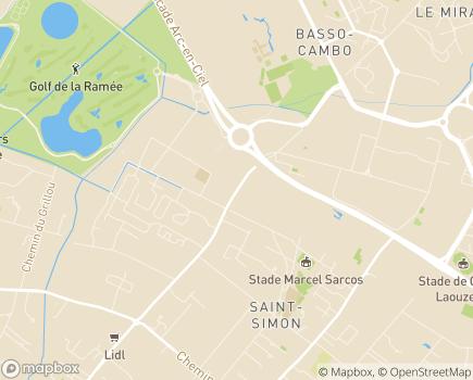Localisation EHPAD Résidence Saint-Simon - 31035 - Toulouse