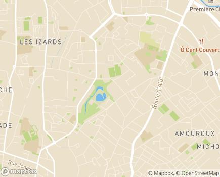 Localisation EHPAD Résidence Domaine de Borderouge - 31200 - Toulouse