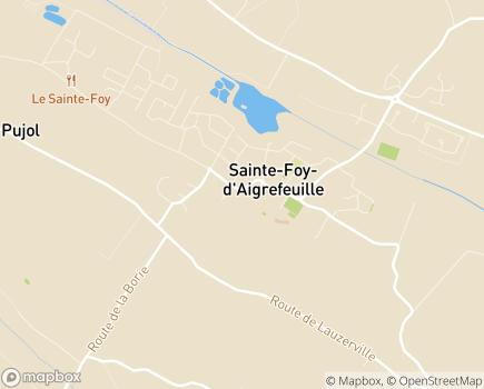 Localisation EHPAD La Cocagne - 31570 - Sainte-Foy-d'Aigrefeuille