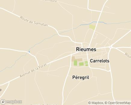 Localisation EHPAD la Prade - 31370 - Rieumes