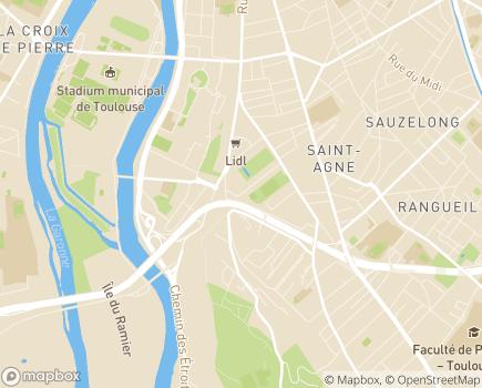 Localisation SSIAD Empalot/Rangueil, Association Alliance Sages-Adages - 31400 - Toulouse
