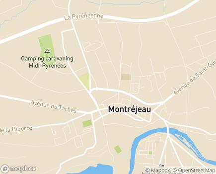 Localisation EHPAD L'Hermitage - 31210 - Montréjeau