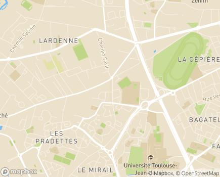 Localisation C.M.S.O. Consultation Médico-Sociale d'Orientation, Union Cépière - 31000 - Toulouse