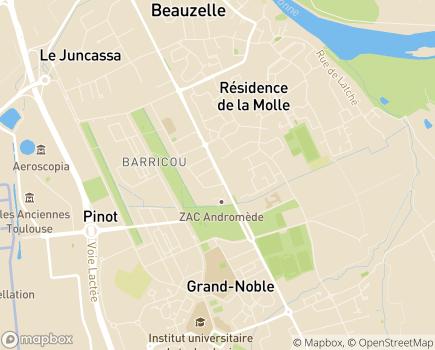 Localisation Résidence Edenis L'Edelweiss - 31700 - Beauzelle