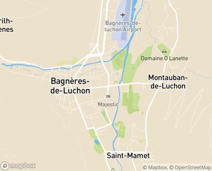 Localisation EHPAD Les Tilleuls - 31110 - Bagnères-de-Luchon