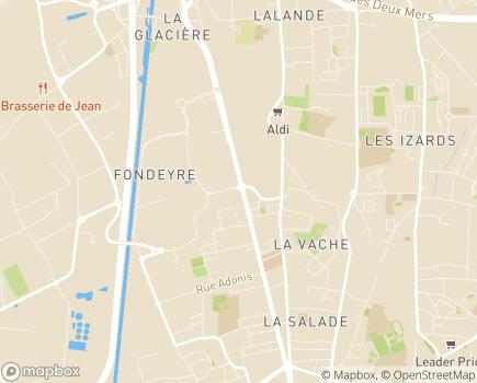 Localisation EHPAD Résidence Nouvelle Orléans - 31200 - Toulouse