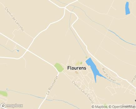 Localisation ANRAS Pension de Famille, Résidence Occitania - 31130 - Flourens