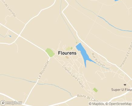 Localisation EHPAD Résidence du Lac - 31130 - Flourens