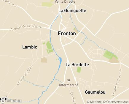 Localisation EHPA Le Mas des Orangers - 31620 - Fronton