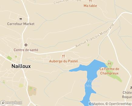 Localisation EHPAD Résidence La Thésauque - 31560 - Nailloux