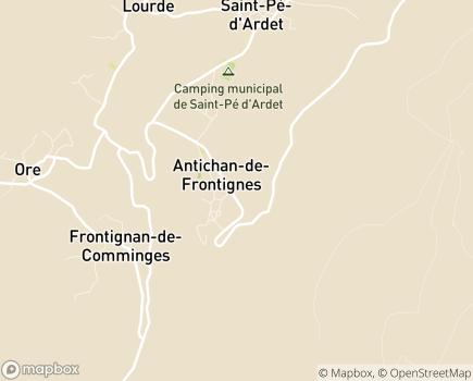 Localisation EHPAD Noelie Secail - 31510 - Antichan-de-Frontignes