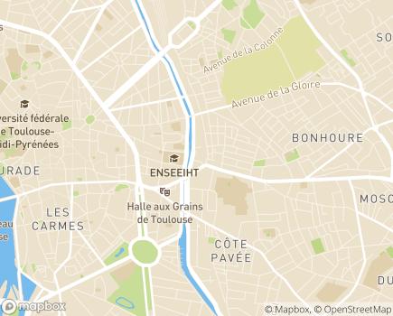 Localisation UEA - Unité Evaluation Autisme - 31000 - Toulouse