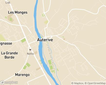 Localisation EHPAD Belles Rives - 31190 - Auterive