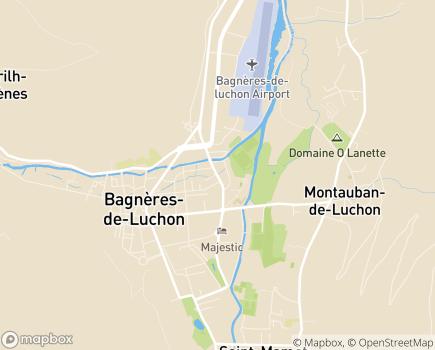Localisation EHPAD Gabriel Rouy - 31110 - Bagnères-de-Luchon