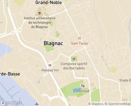 Localisation EHPAD Résidence de Vinci - 31700 - Blagnac