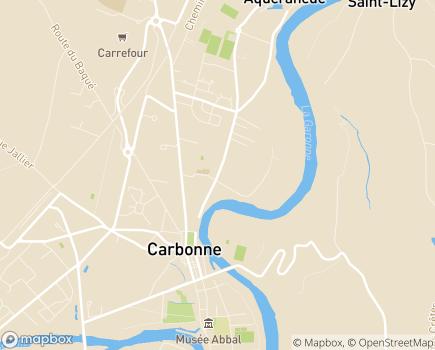Localisation EHPAD Résidence Jallier - 31390 - Carbonne