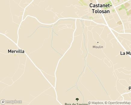 Localisation ITEP Aux Quatre Vents - 31320 - Castanet-Tolosan