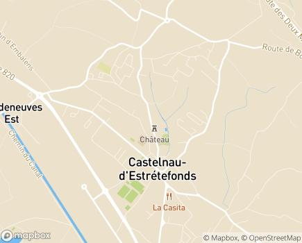 Localisation EHPAD Notre-Dame du Bon Accueil - 31620 - Castelnau-d'Estrétefonds