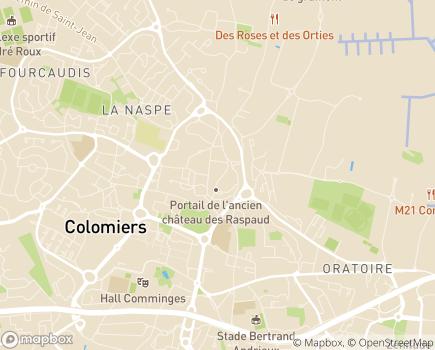 Localisation Résidence autonomie ARPAVIE La Pradine - 31770 - Colomiers