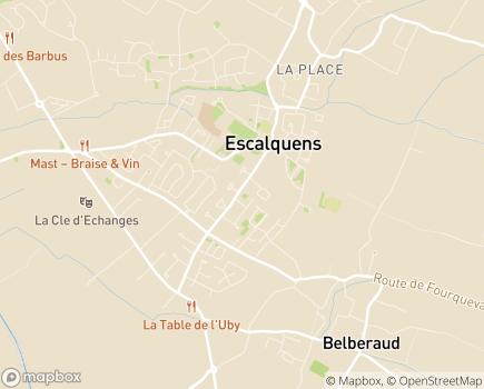 Localisation Résidence Edenis Borde Haute - 31750 - Escalquens