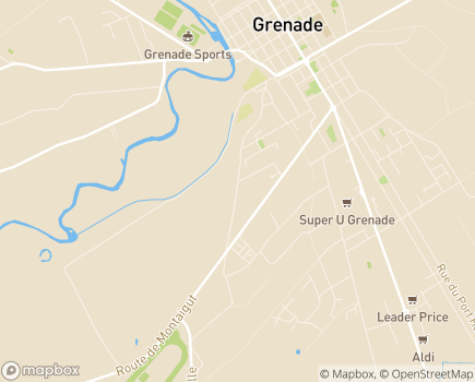 Localisation EHPAD Saint-Jacques - 31330 - Grenade