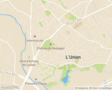 Localisation Korian Grand Maison - 31240 - L'Union